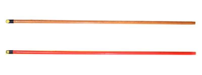 DRŠKA ZA PARTVIŠ DRVENA plastificirana 120 cm